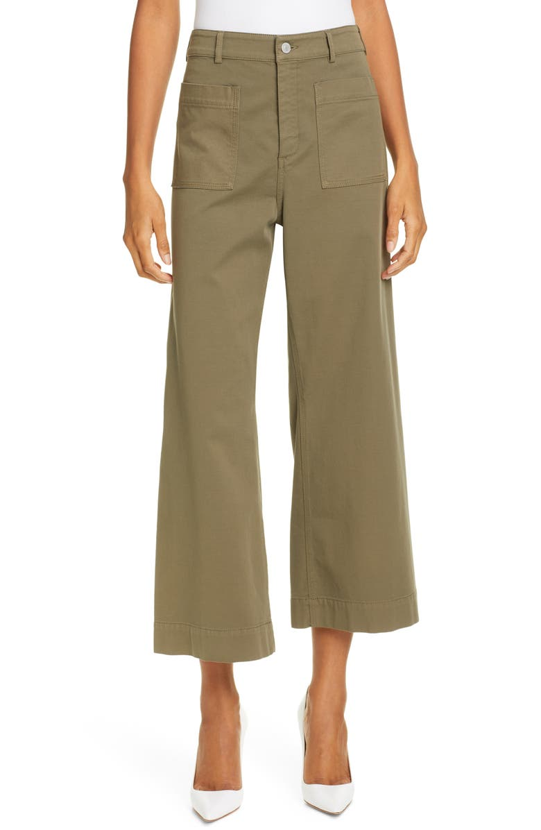 A.L.C. Fallon Wide Leg Crop Pants, Main, color, 301