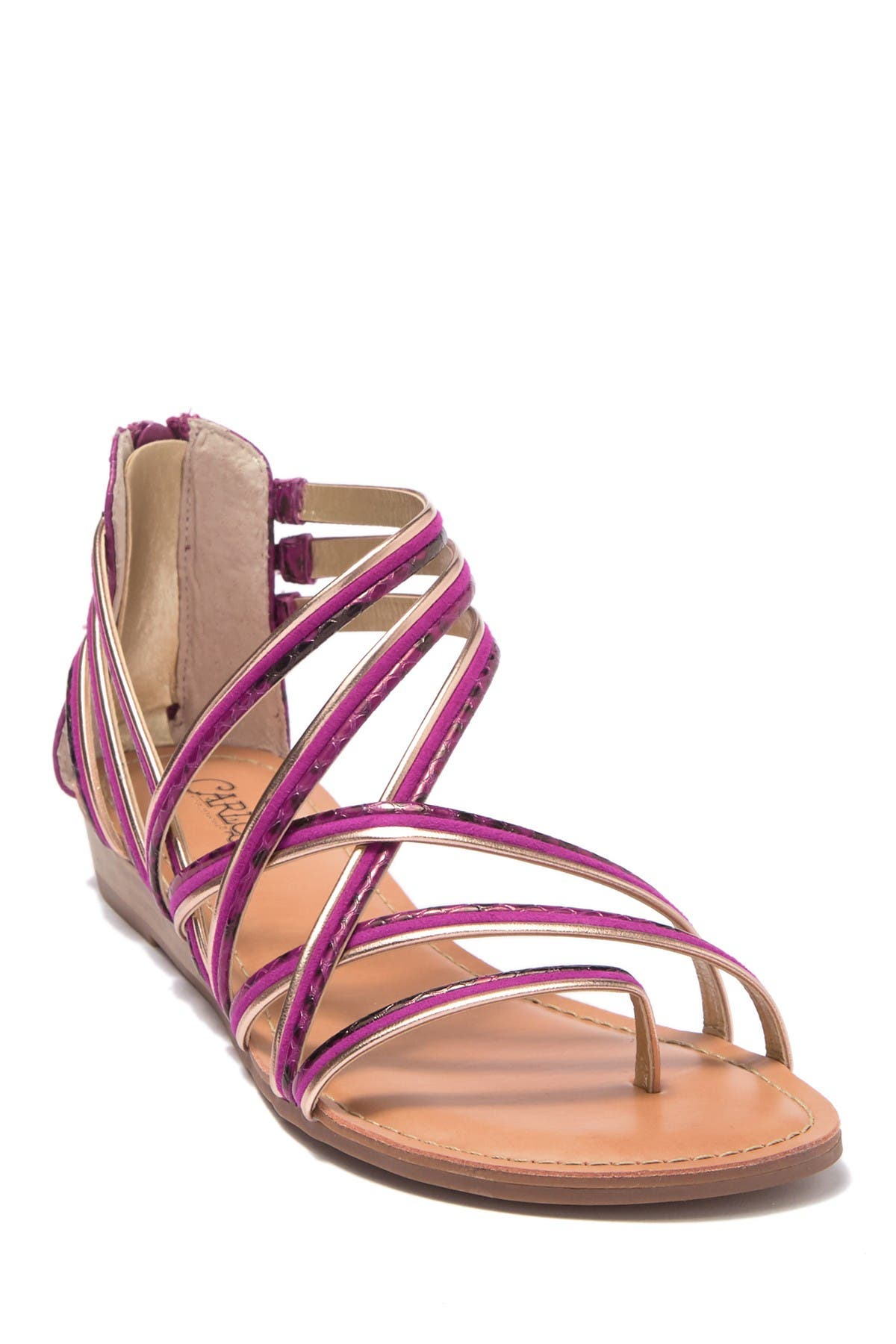 Image of Carlos By Carlos Santana Amara Wedge Sandal