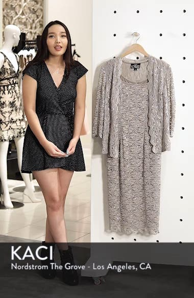 Lace Cocktail Dress with Jacket, sales video thumbnail