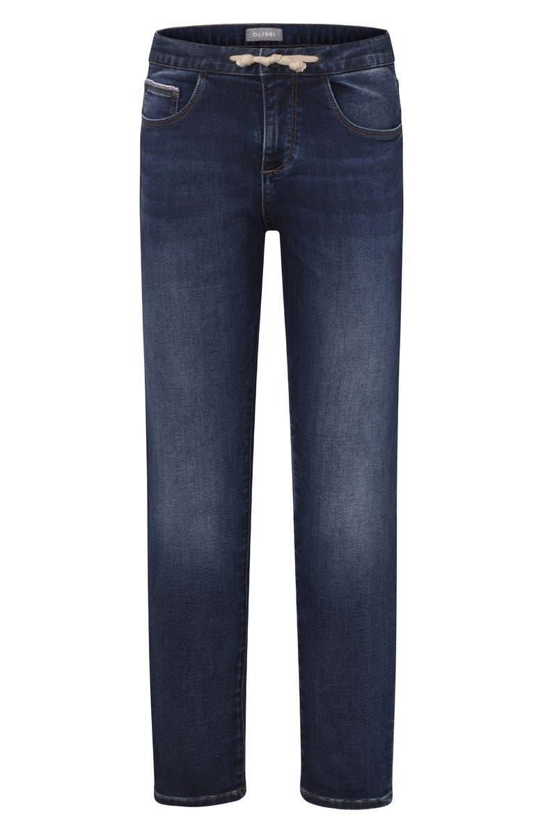 DL1961 Drawstring Slim Jeans, Main, color, MAGIC MOUNTAIN