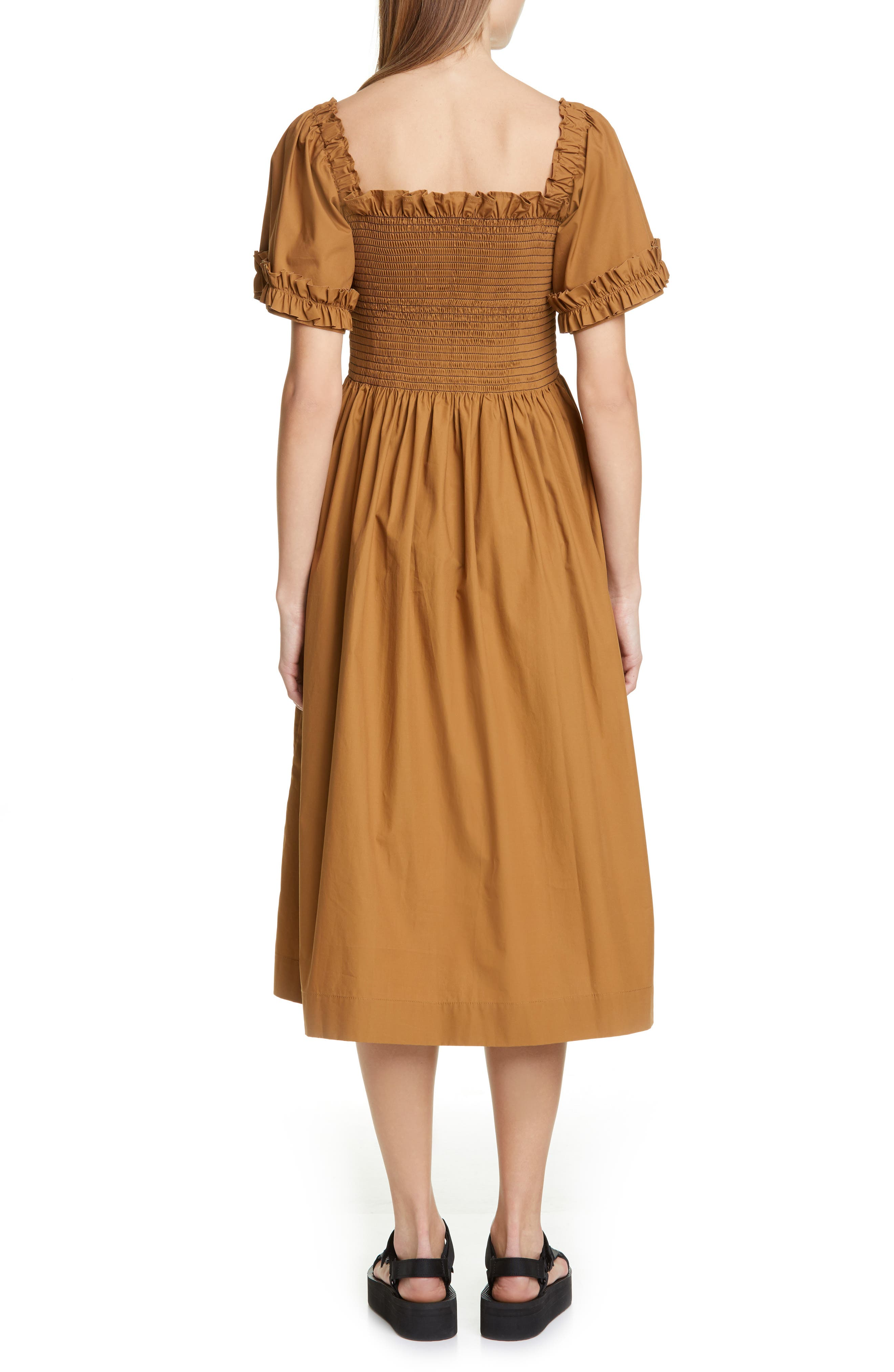 ,                             Adelaide Dress,                             Alternate thumbnail 2, color,                             BROWN