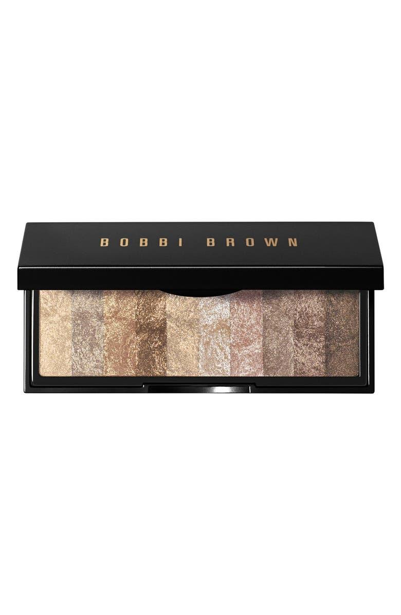BOBBI BROWN 'Raw Sugar' Shimmer Brick Palette, Main, color, 274
