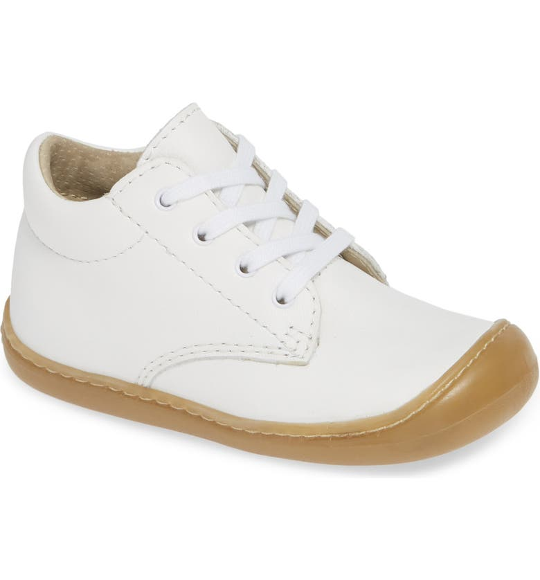 FOOTMATES Reagan First-Walker Bootie, Main, color, WHITE