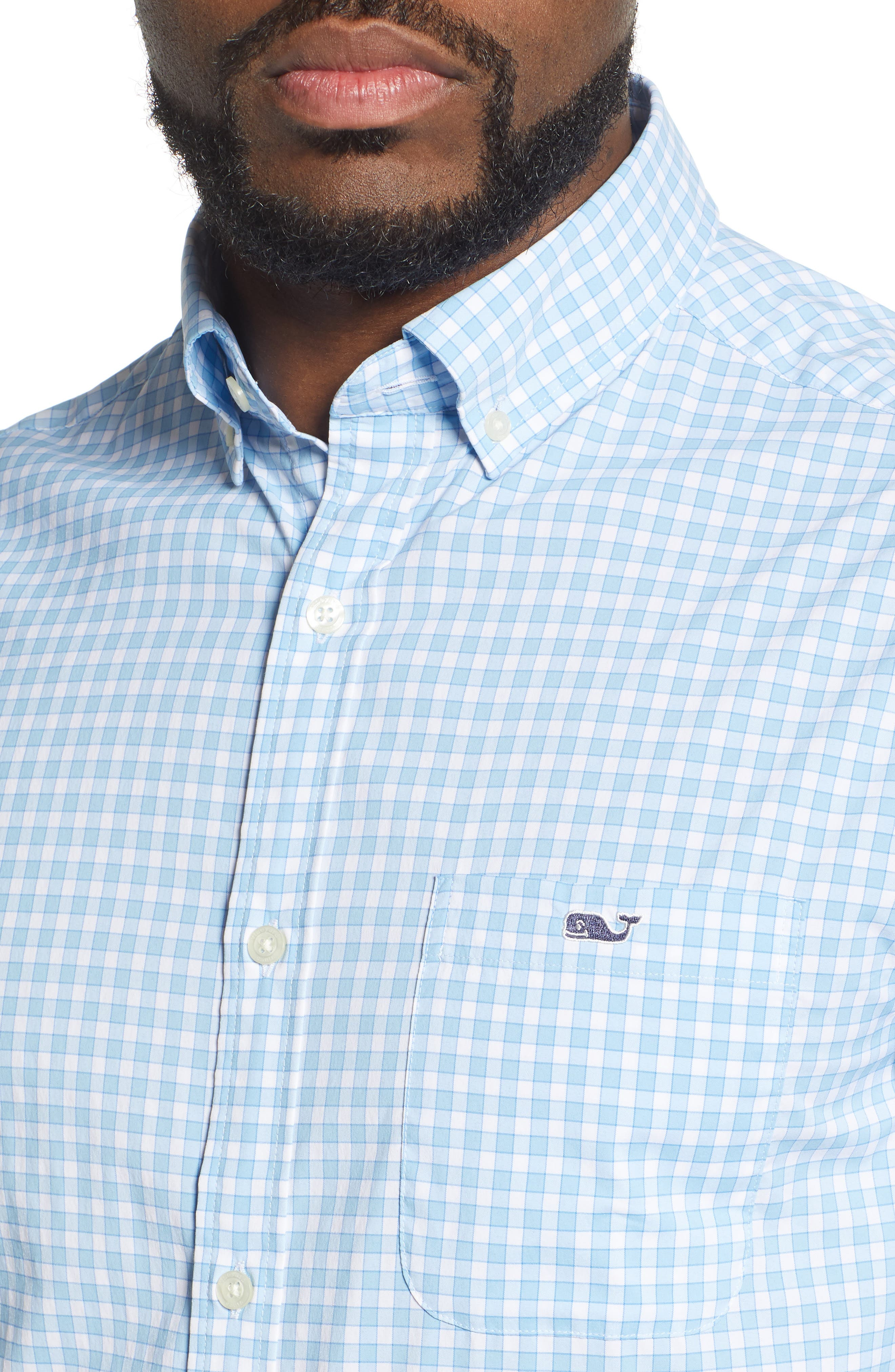,                             Bermuda Tucker Regular Fit Performance Sport Shirt,                             Alternate thumbnail 2, color,                             JAKE BLUE