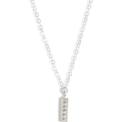 Anna Beck Mini Vertical Bar Charity Pendant Necklace