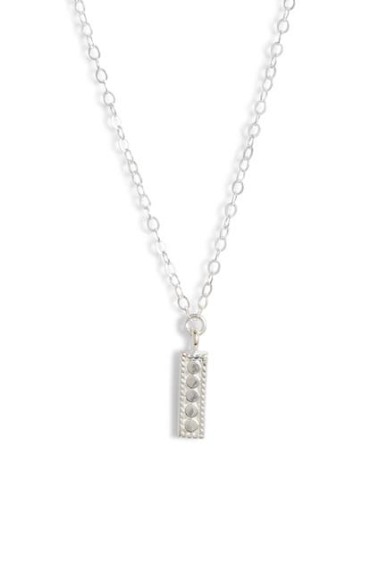 Image of Anna Beck Sterling Silver Mini Vertical Bar Necklace