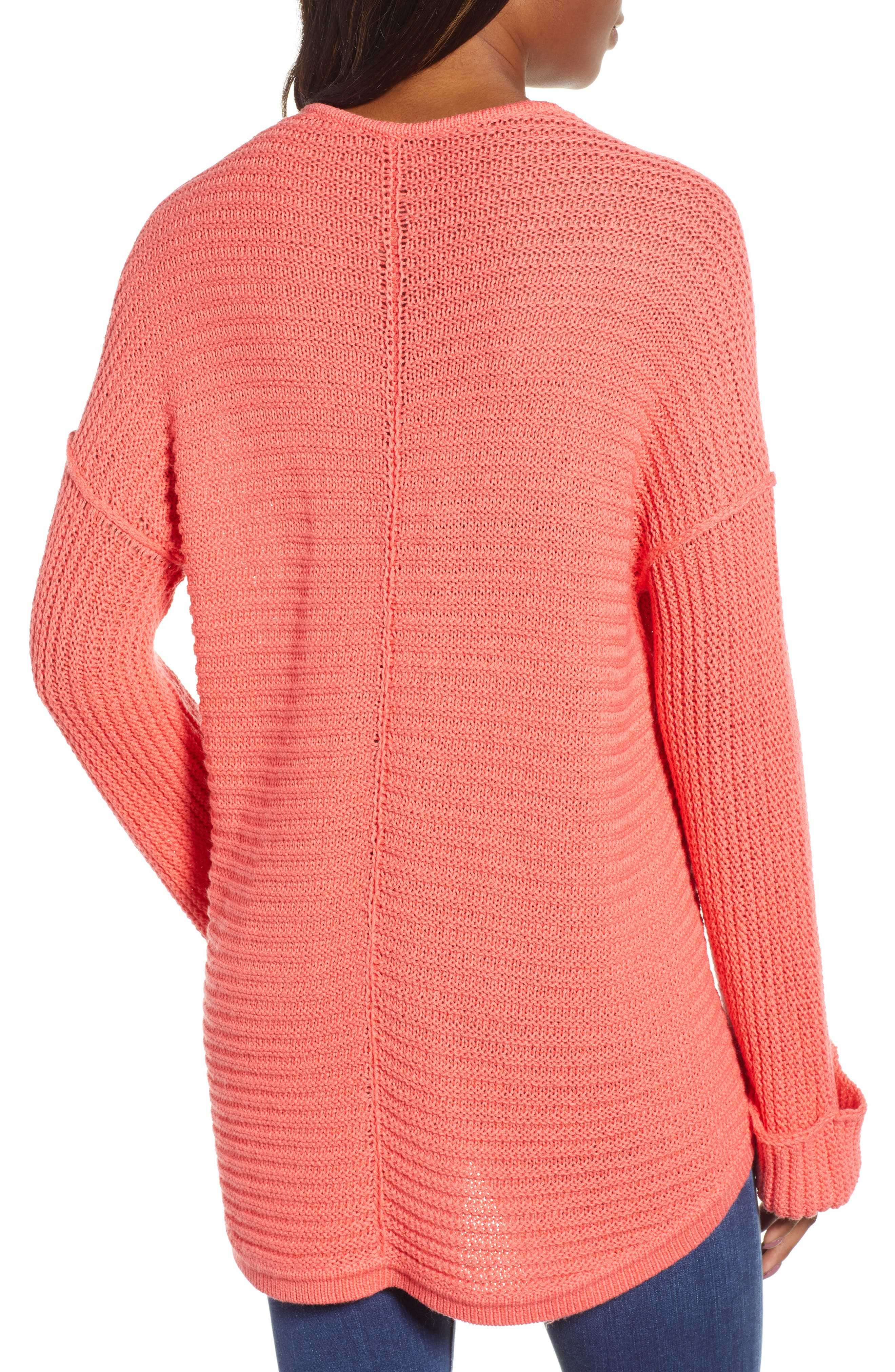 ,                             Cuffed Sleeve Sweater,                             Alternate thumbnail 50, color,                             958