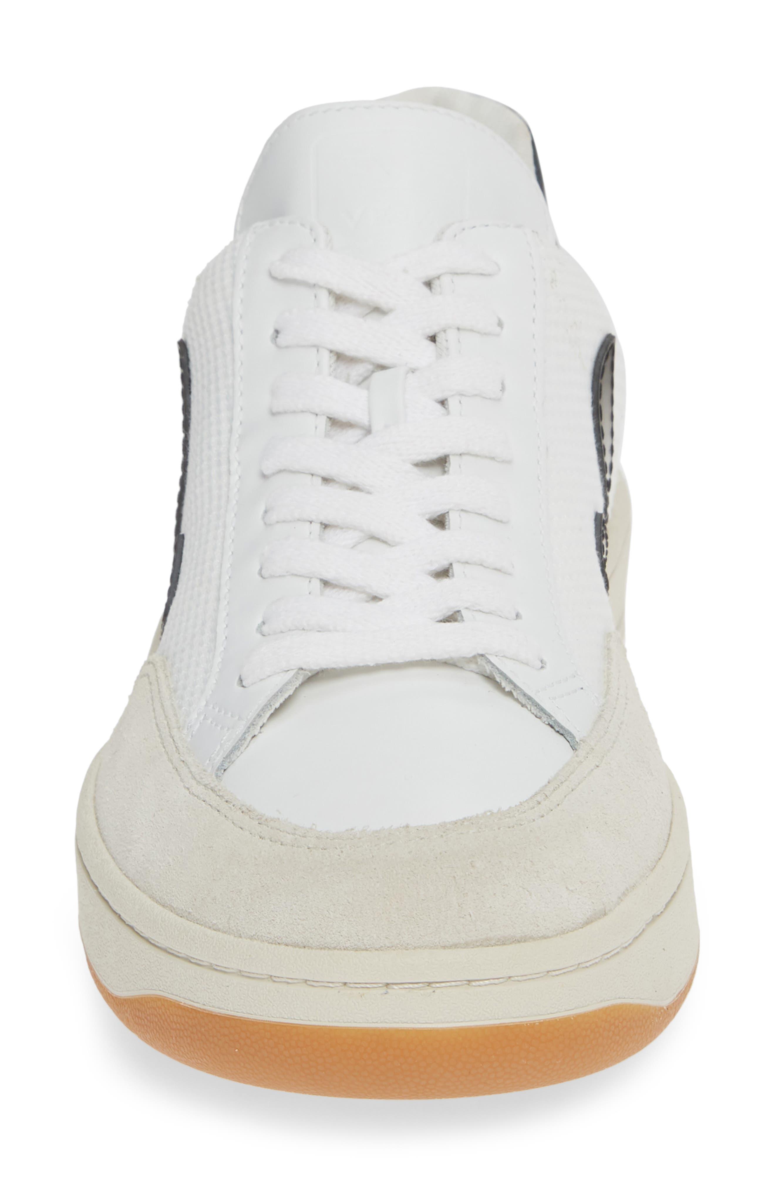 ,                             V-12 Sneaker,                             Alternate thumbnail 4, color,                             WHITE BLACK