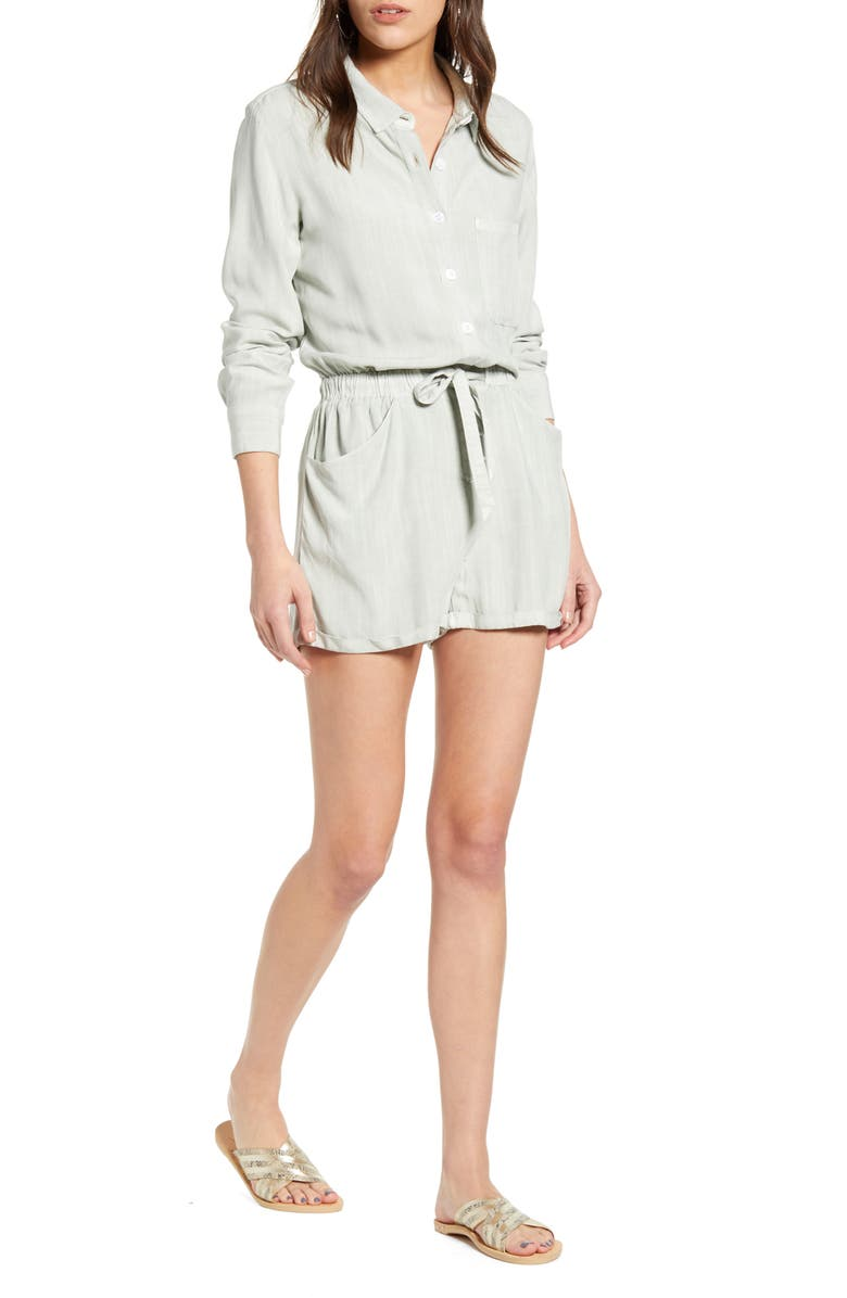 RAILS Kennedy Long Sleeve Romper, Main, color, 300