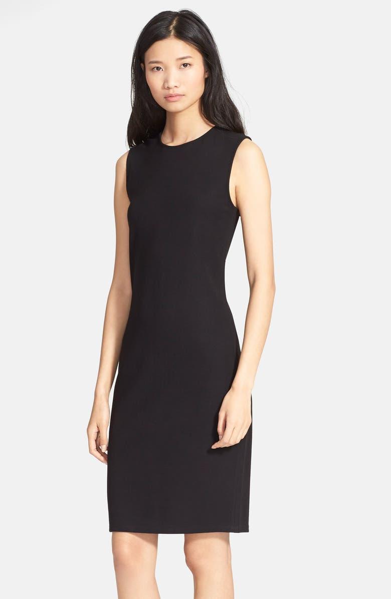 VINCE Knit Shift Dress, Main, color, 005