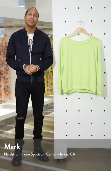 Neon Raglan Sweatshirt, sales video thumbnail