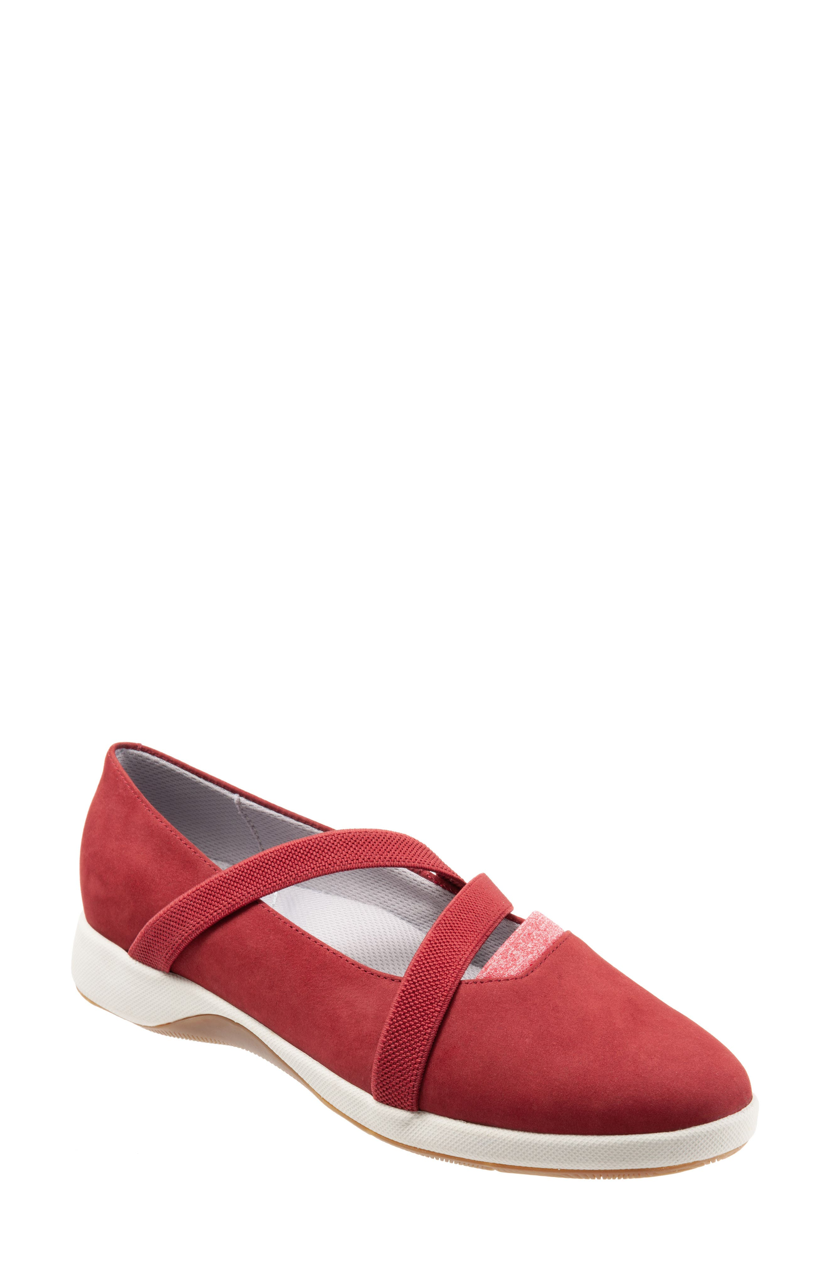 Softwalk Haely Mary Jane, Red