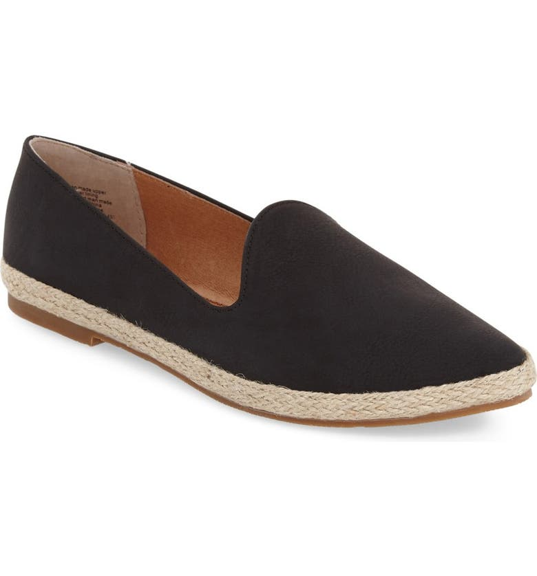 SEYCHELLES 'Browse' Pointy Toe Espadrille Flat, Main, color, 001