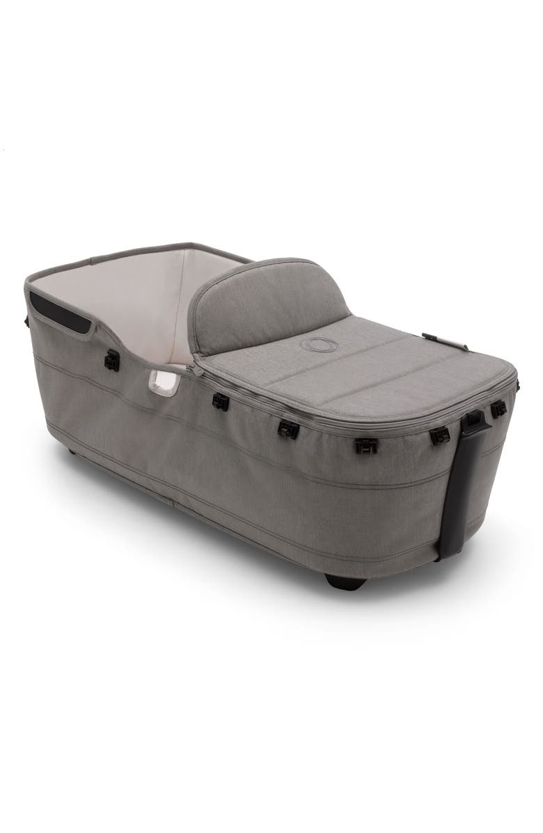 BUGABOO Lynx Bassinet Complete Set, Main, color, MINERAL LIGHT GRAY