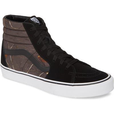 Vans Ua Realtree Sk8 Hi Sneaker- Grey