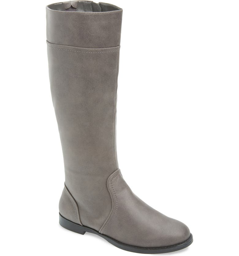 BELLA VITA Rebecca II Knee High Boot, Main, color, GREY