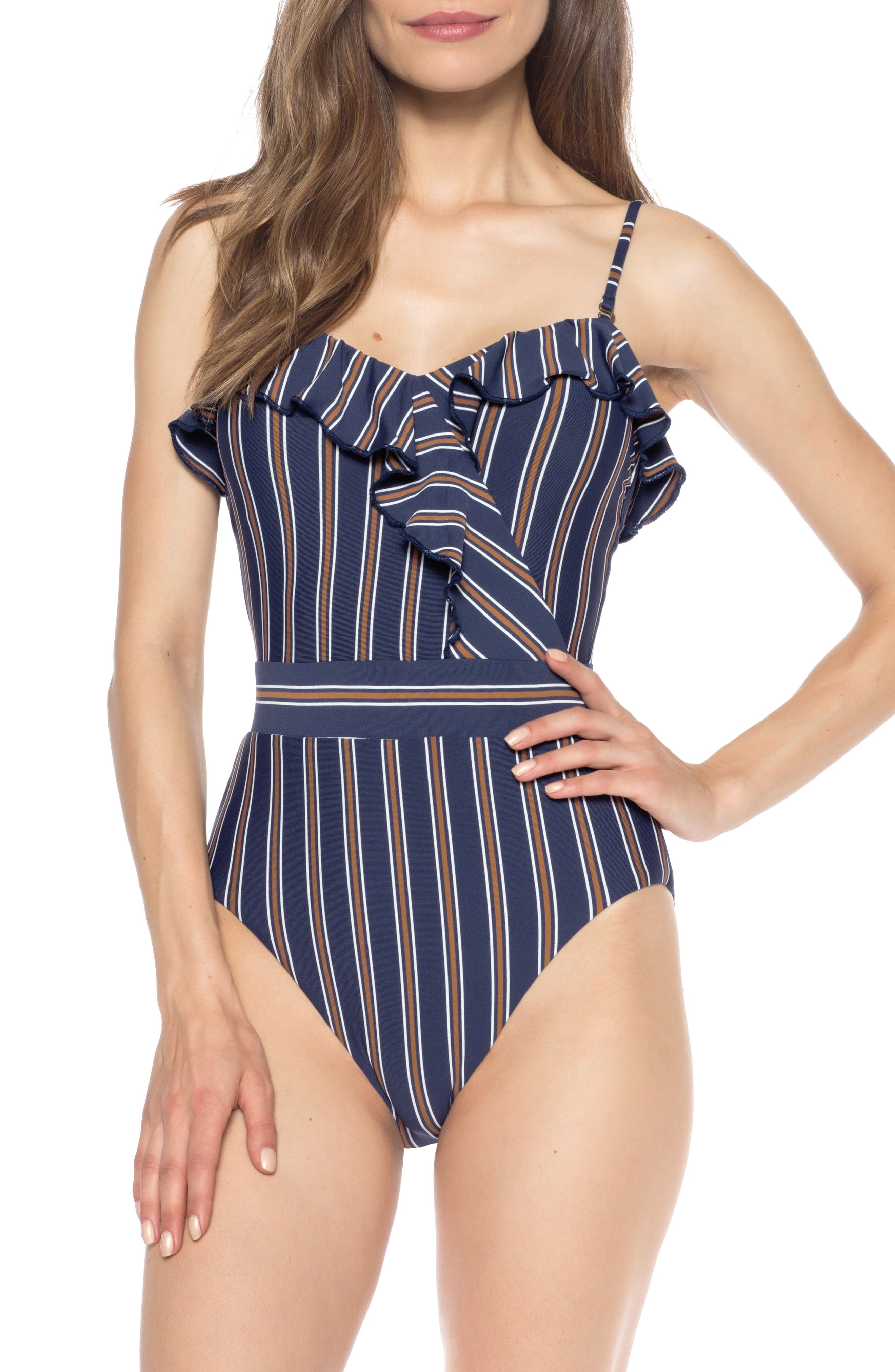 Isabella Rose Broadway One-Piece Convertible Bathing Suit