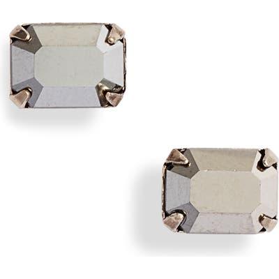 Sorrelli Mini Emerald Cut Stud Earrings