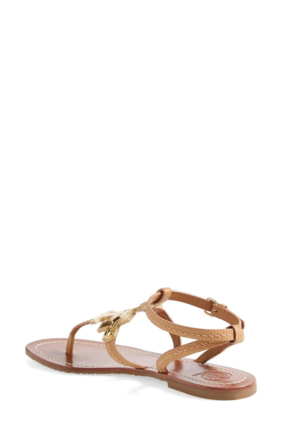 ,                             'Chandler' Leather Sandal,                             Alternate thumbnail 3, color,                             710