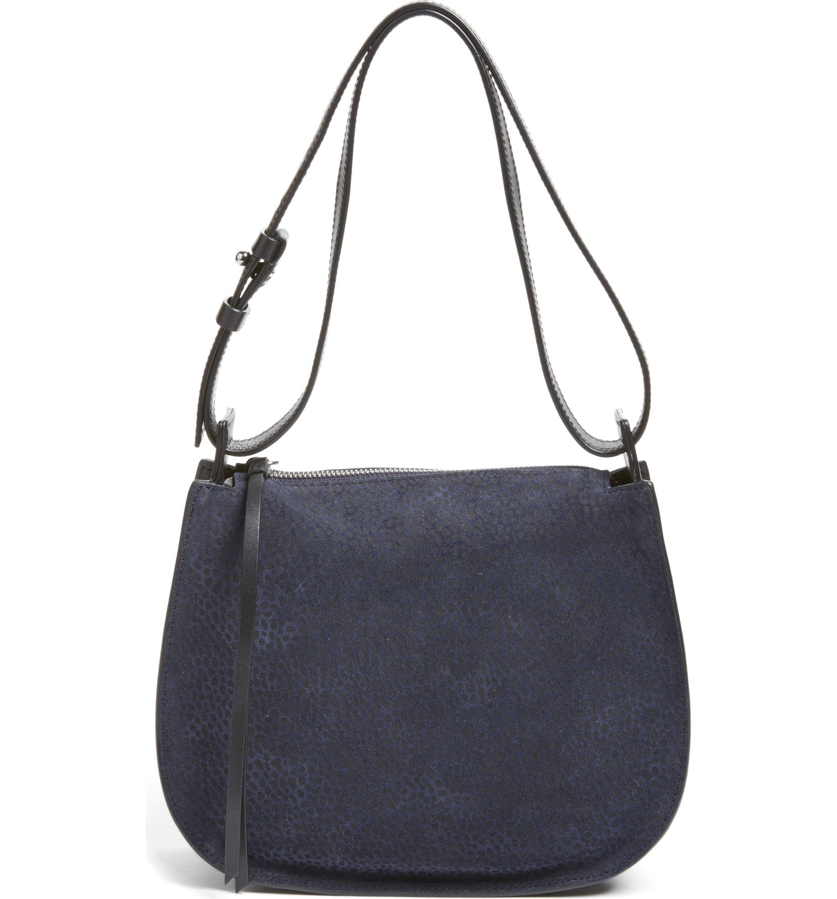 e05cb9131d7 ALLSAINTS Mini Echo Calfskin Suede & Leather Hobo | Nordstrom
