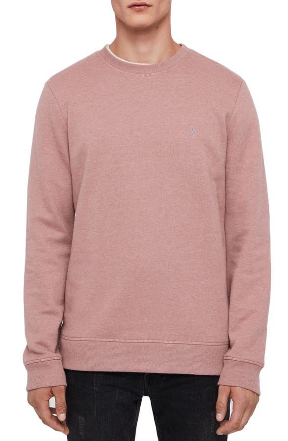 Allsaints Sweatshirts RAVEN SLIM FIT CREWNECK SWEATSHIRT