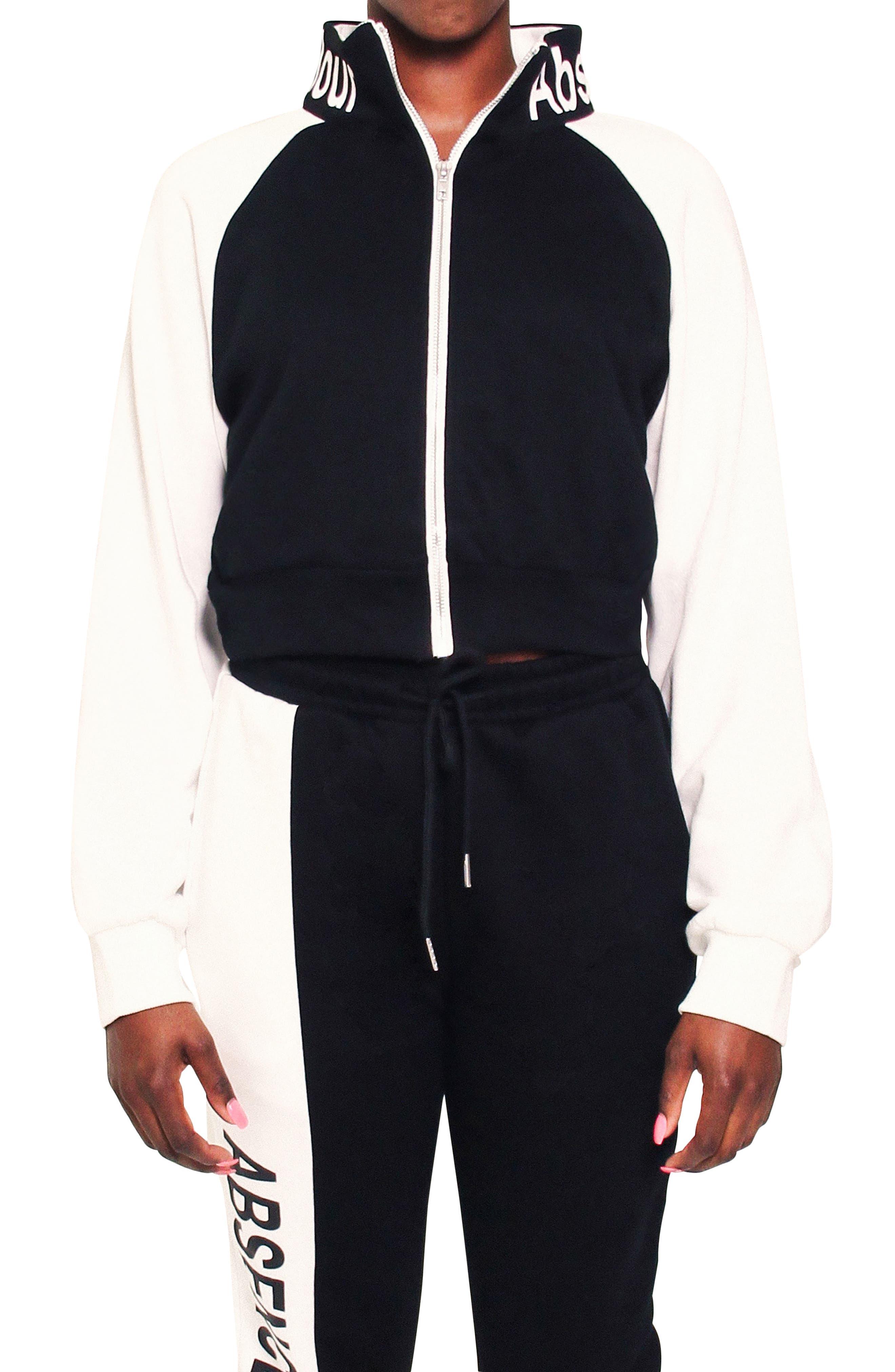 Tia Logo Collar Track Jacket