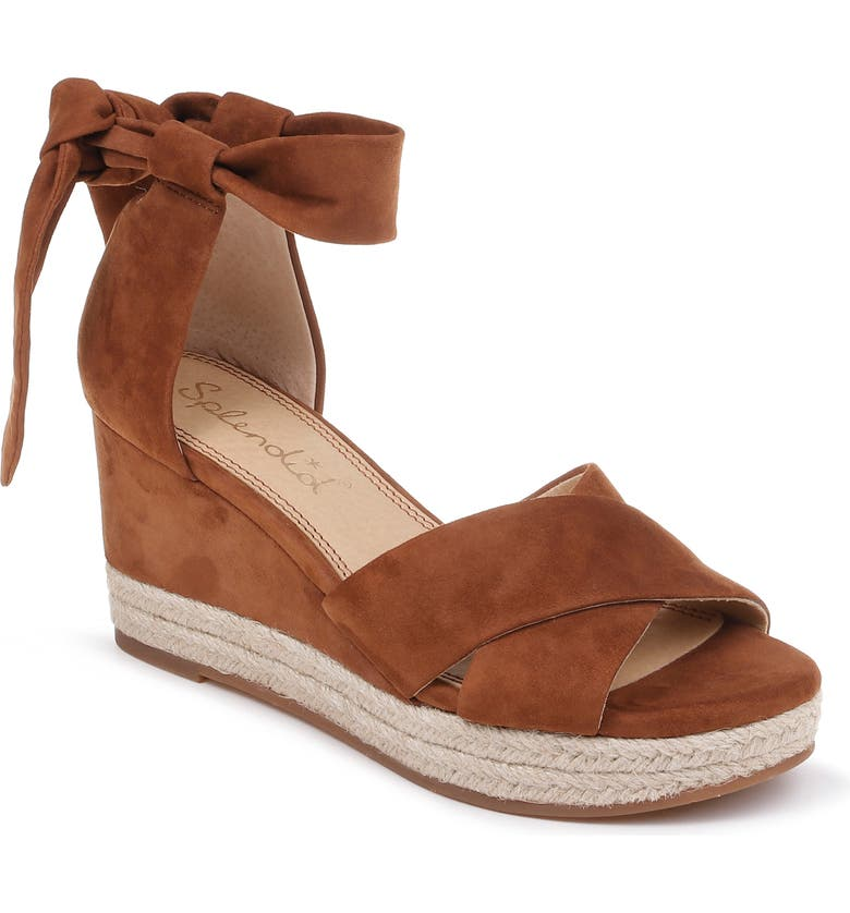 SPLENDID Terrence Ankle Wrap Wedge Sandal, Main, color, 219