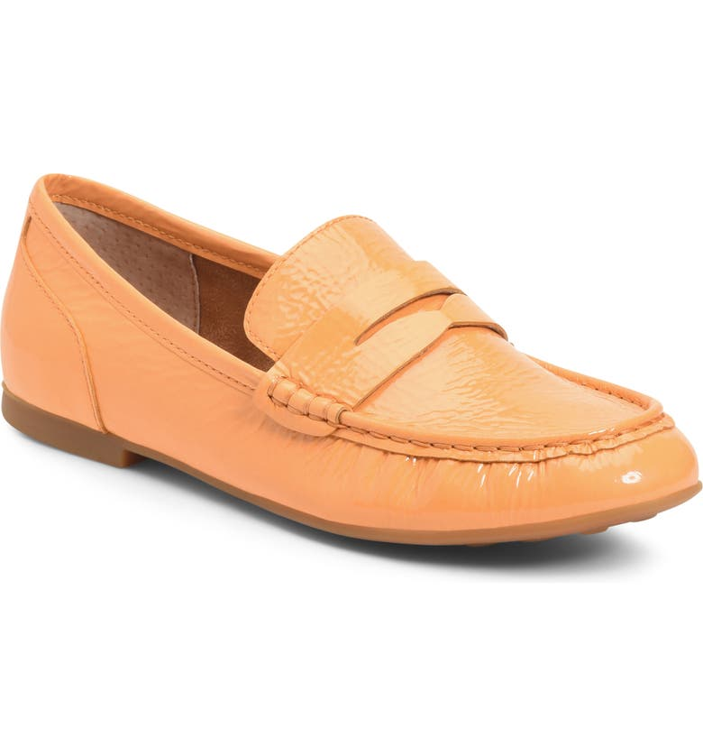 BØRN Betti Loafer, Main, color, ORANGE PATENT LEATHER