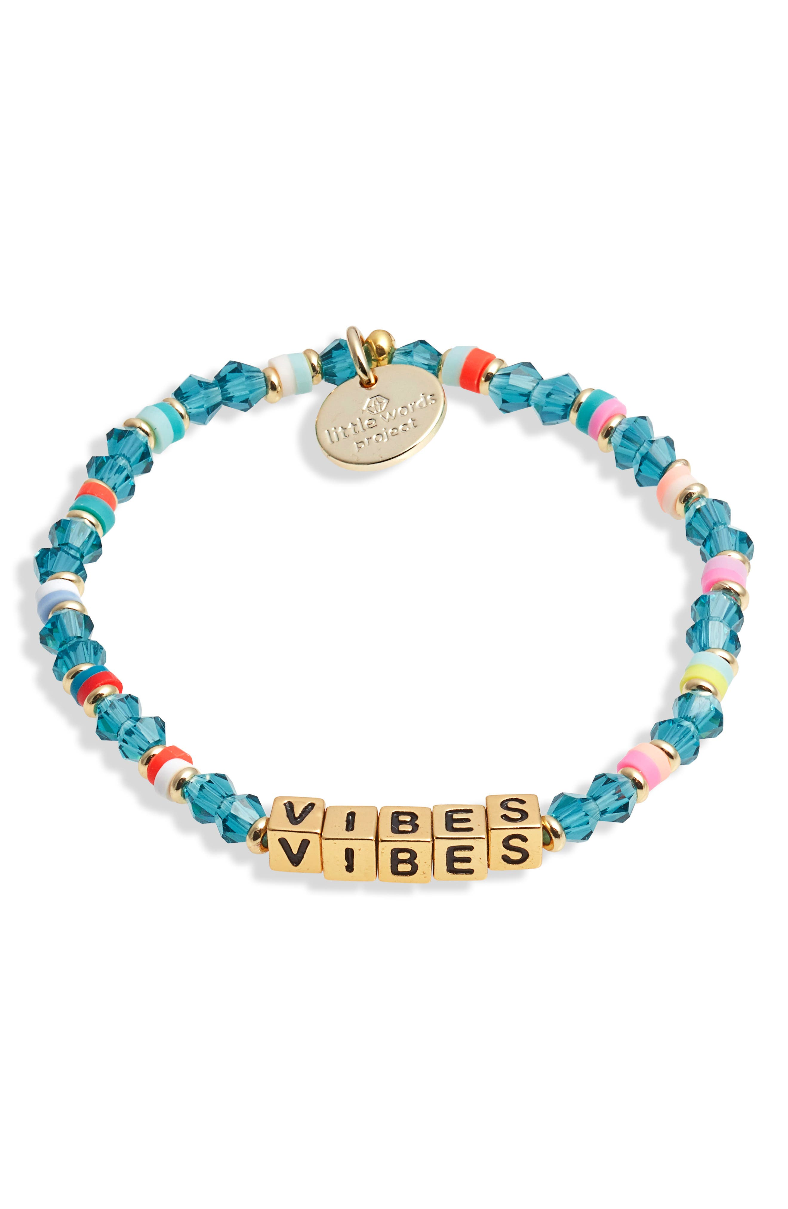 Vibes Beaded Stretch Bracelet