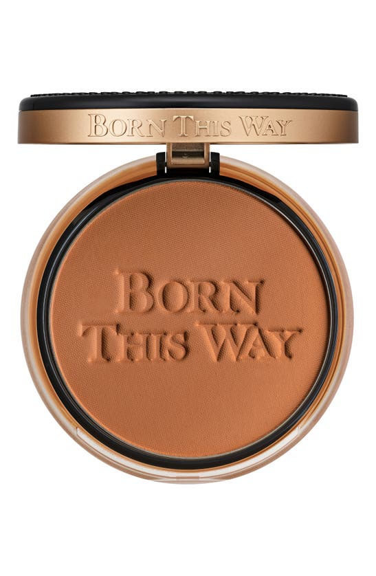 Too Faced Born This Way Undetectable Medium-to-full Coverage Powder Foundation In Spiced Rum