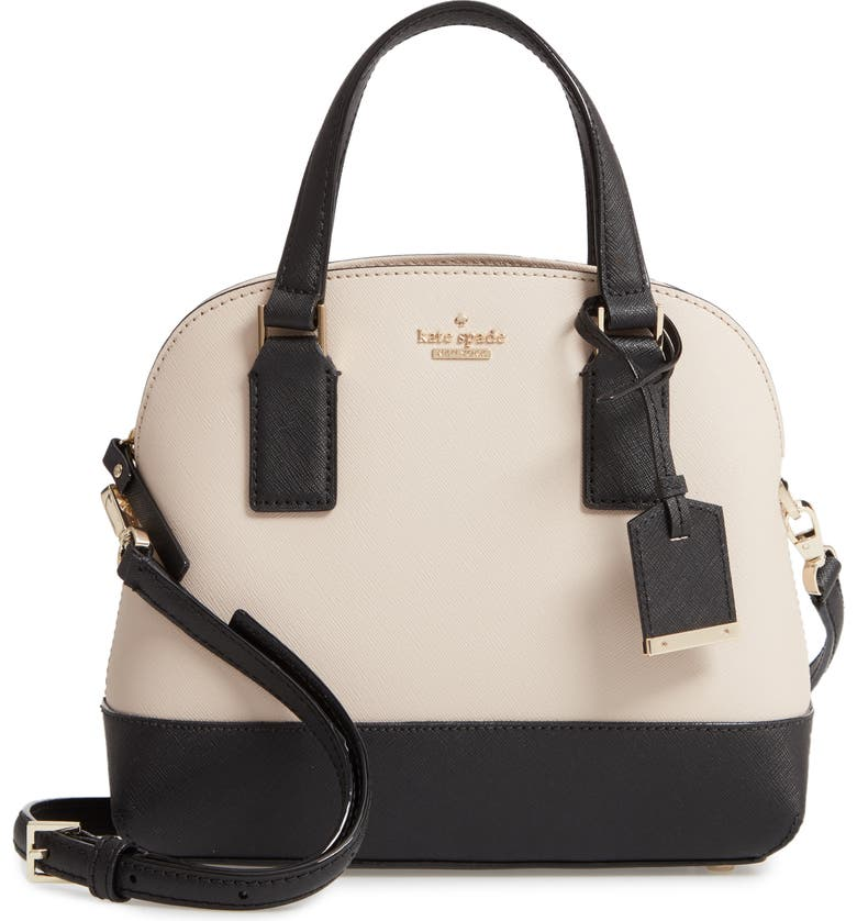 KATE SPADE NEW YORK cameron street small lottie leather bag, Main, color, 253
