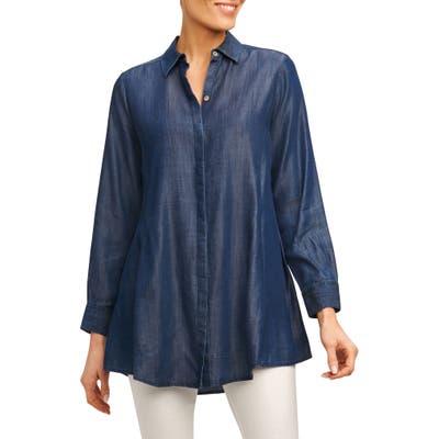 Foxcroft Cici Tencel Tunic Shirt