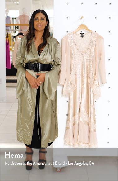 Beaded Neck Charmeuse Dress & Jacket, sales video thumbnail