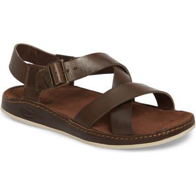 Chaco Wayfarer Strappy Sandal, Brown