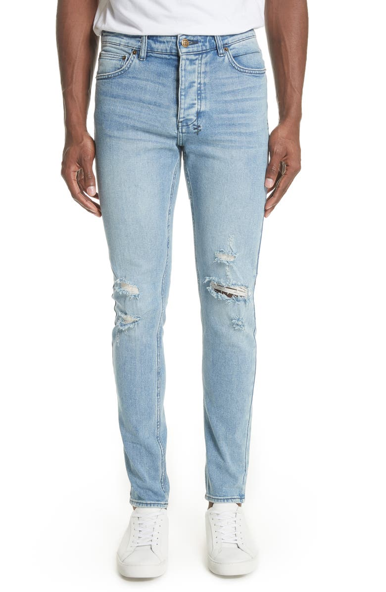 KSUBI Chitch Philly Skinny Fit Jeans, Main, color, BLUE