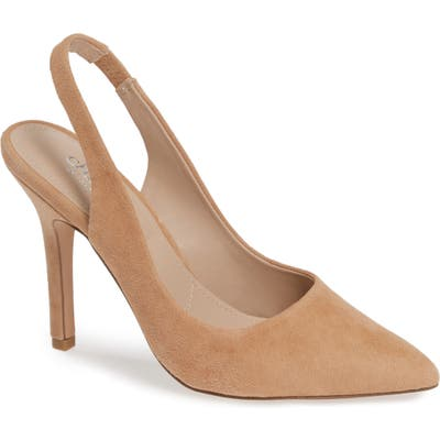 Charles By Charles David Madalyn Slingback Pump, Beige