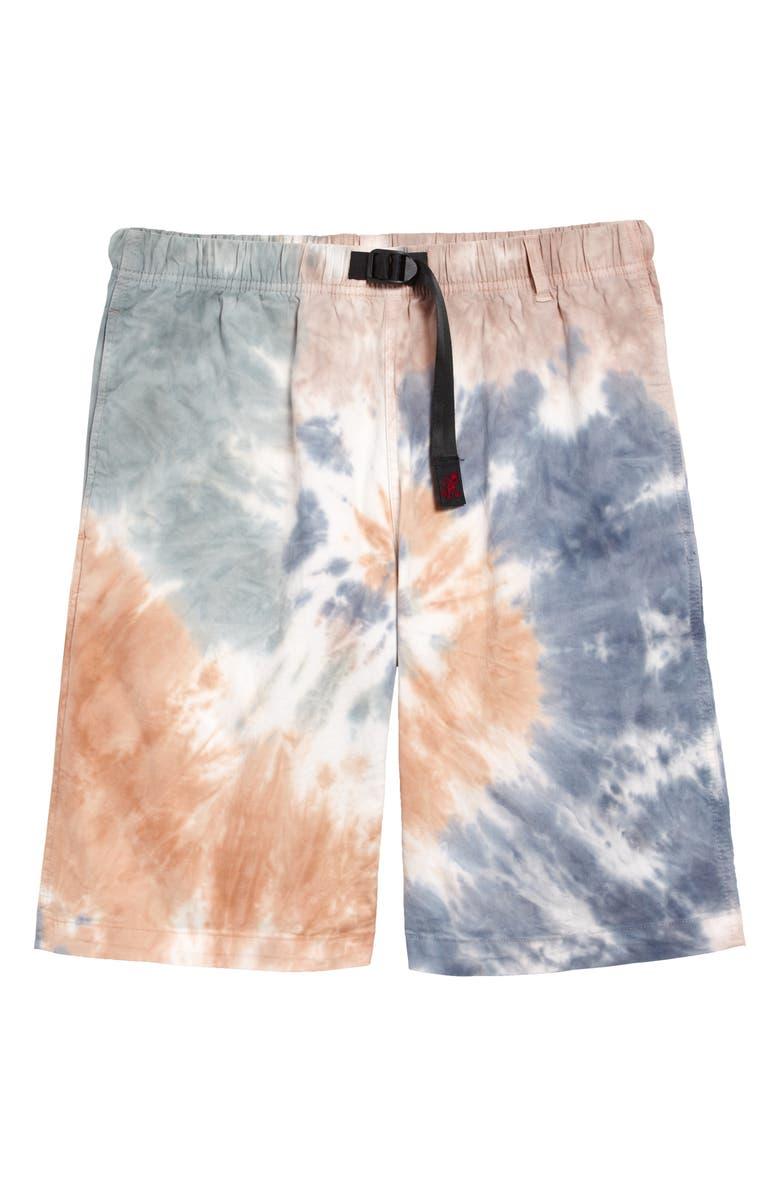 GRAMICCI Tie Dye G-Shorts, Main, color, CAMO