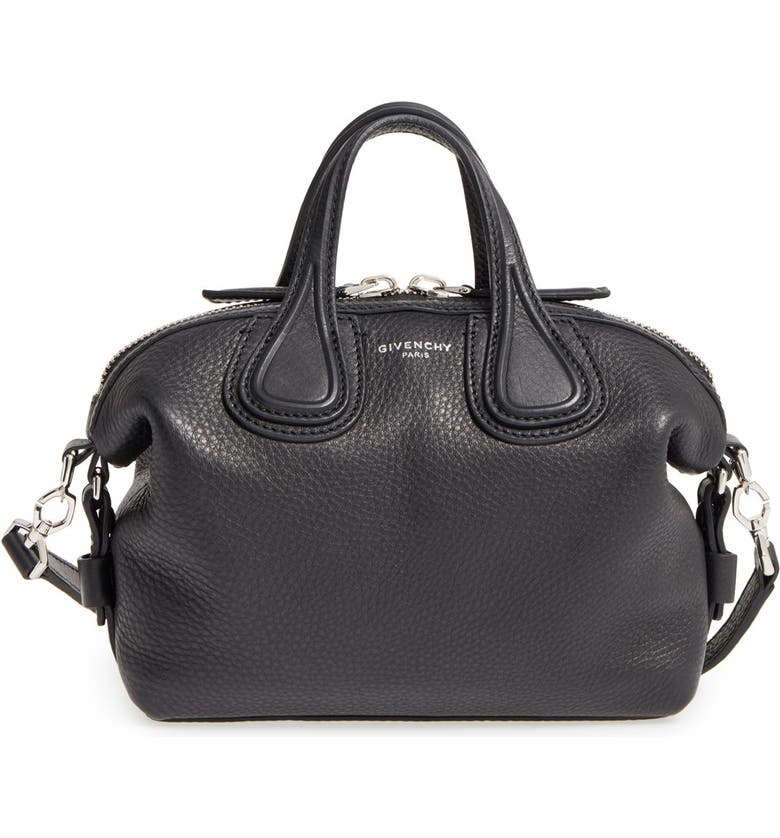 fbe879b8ffb1e Givenchy Micro Nightingale Leather Satchel | Nordstrom