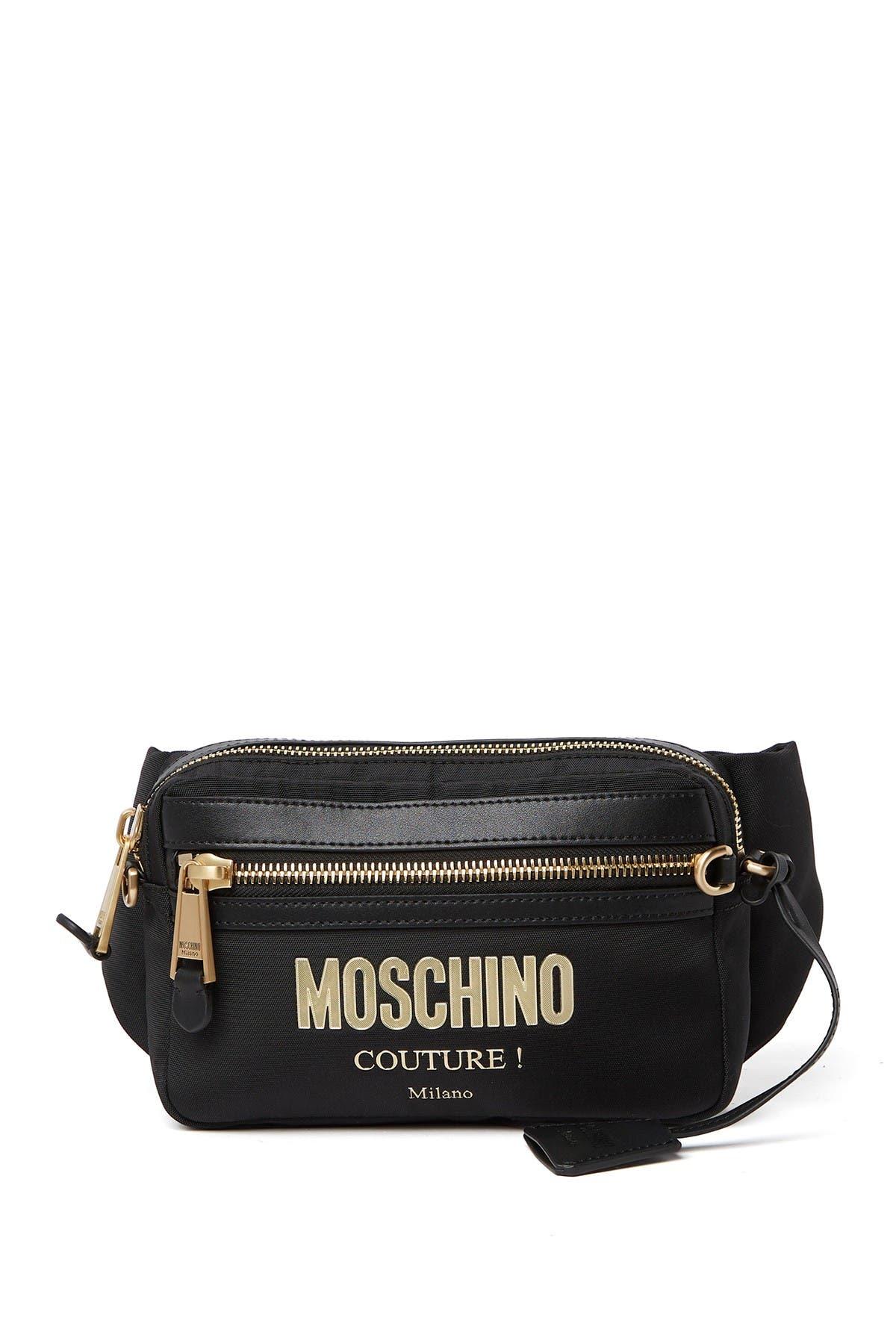 Image of MOSCHINO Logo Belt Bag