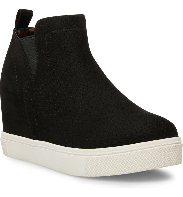 STEVE MADDEN JWrangle Wedge Sneaker Bootie, Main, color, 001