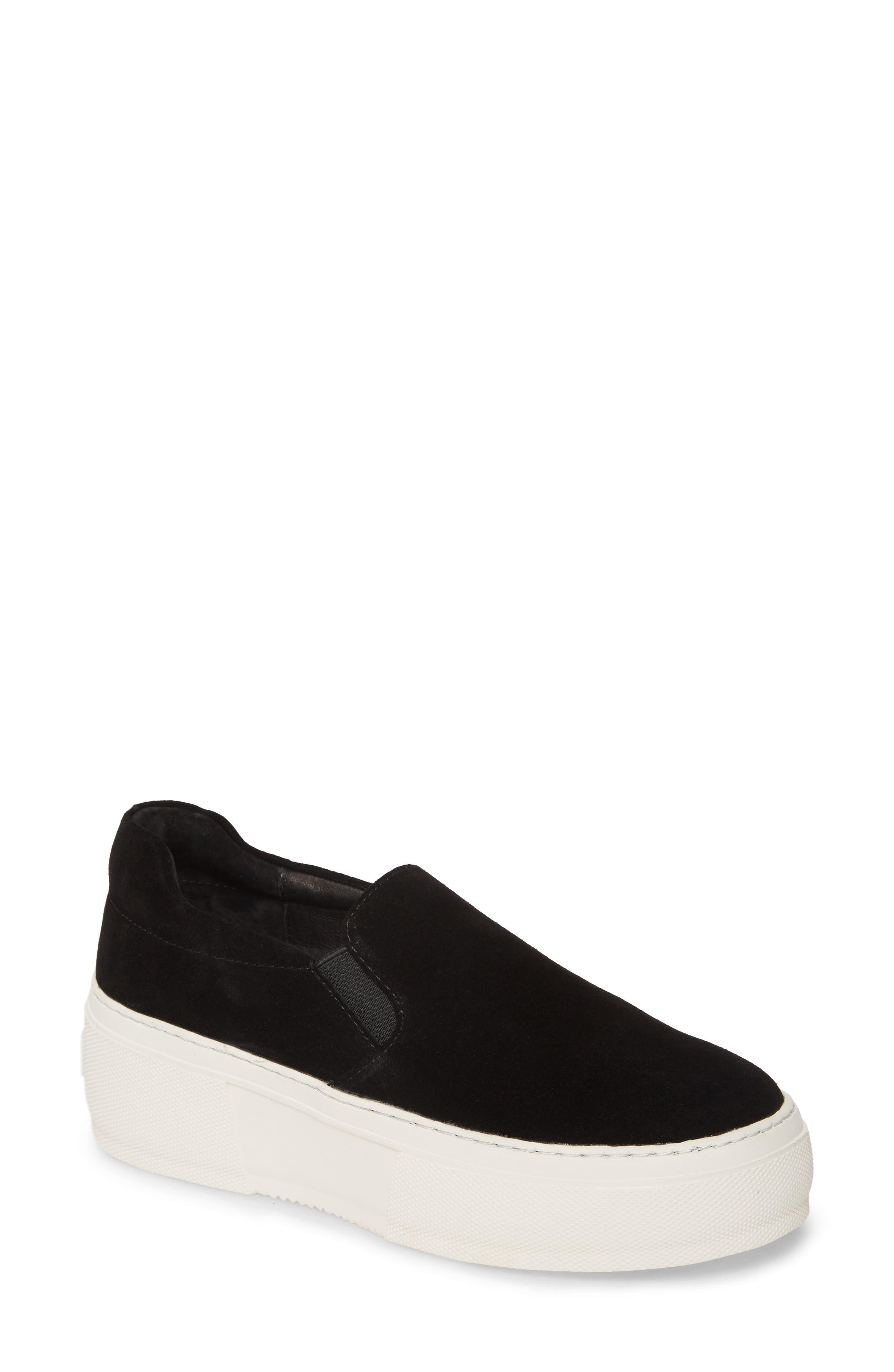 JSlides Cleo Platform Slip-On Sneaker