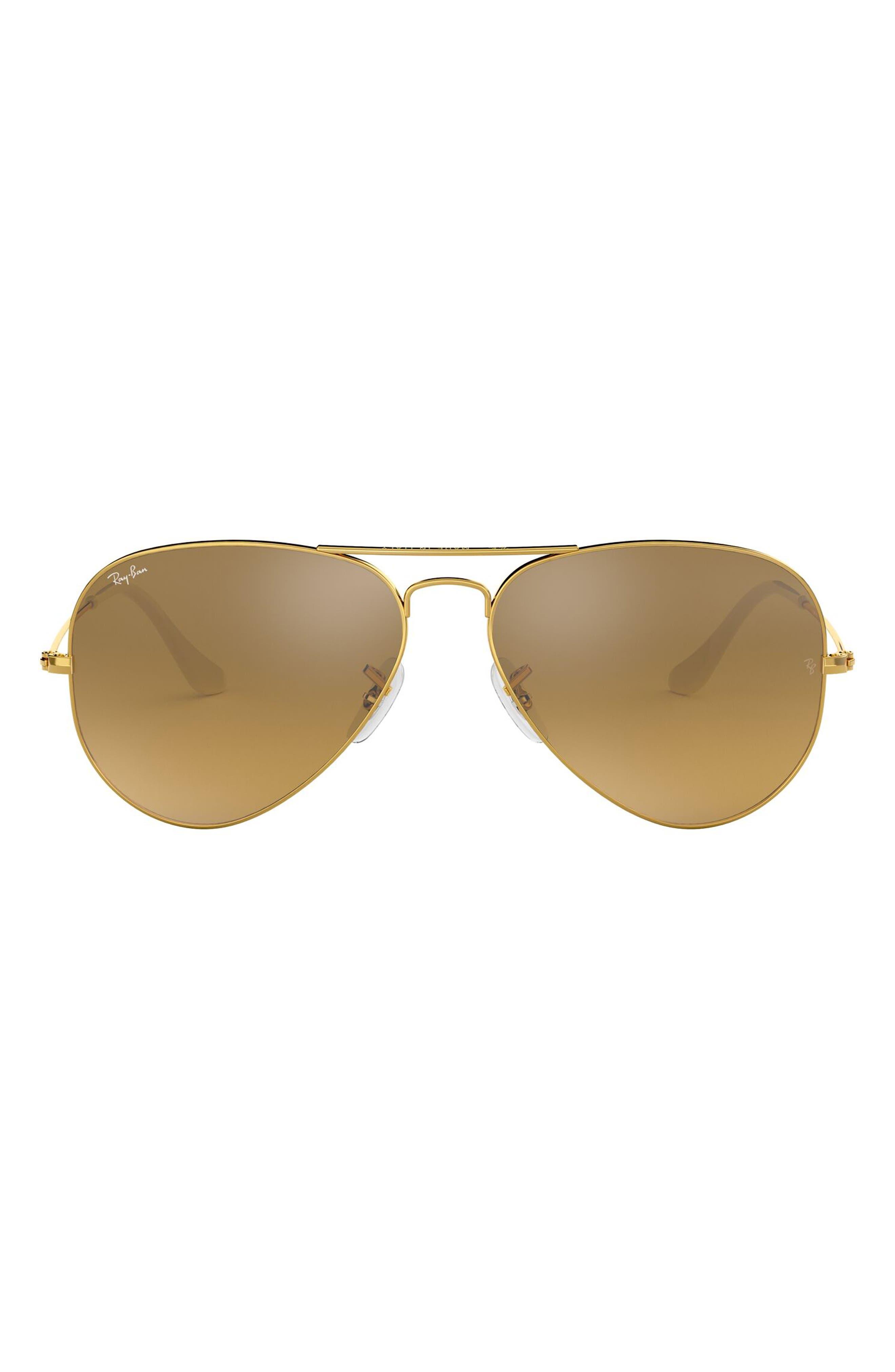 Ray-Ban Original 62mm Aviator Sunglasses - Blue Gradient