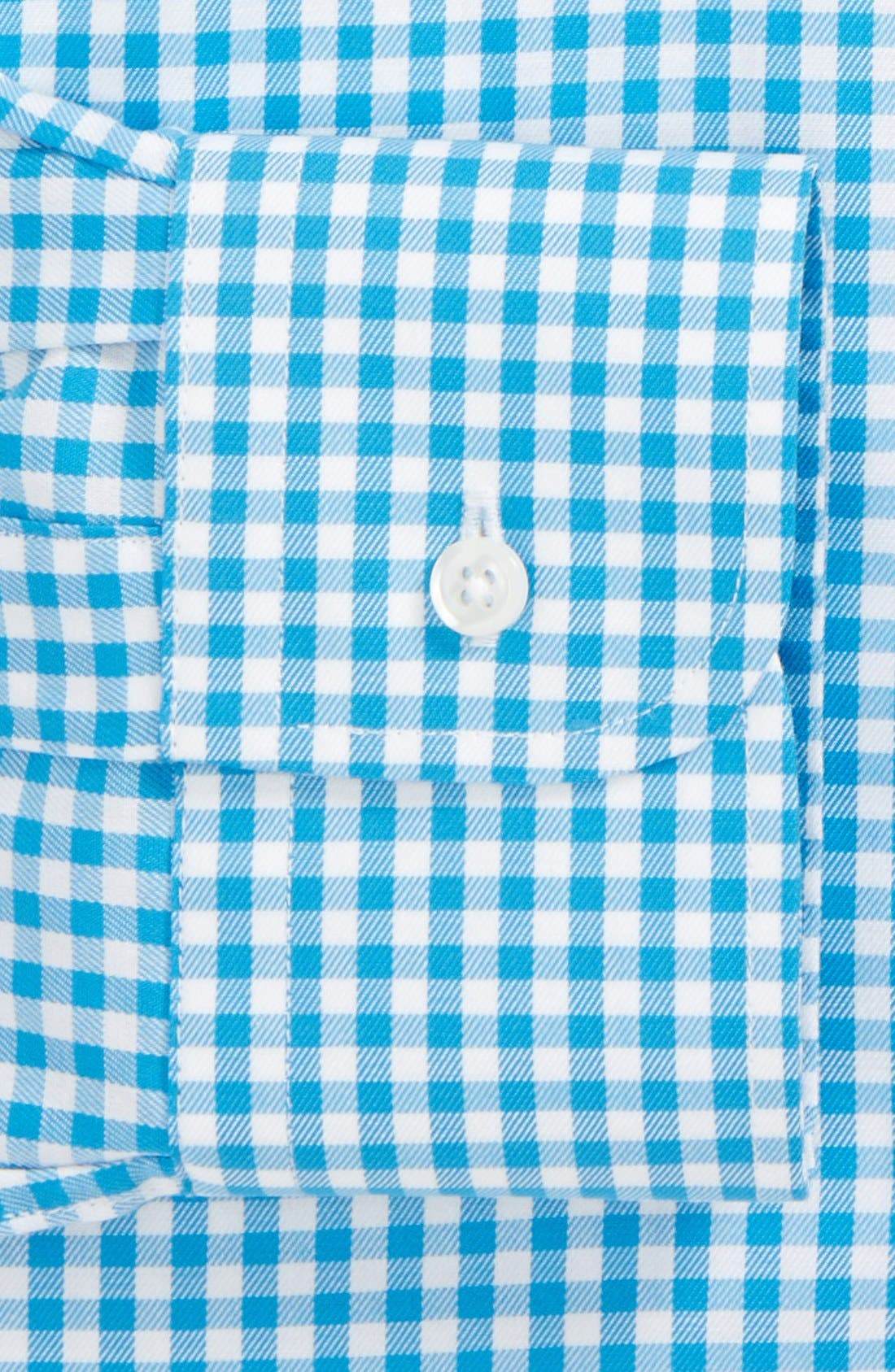 ,                             Traditional Fit Non-Iron Gingham Dress Shirt,                             Alternate thumbnail 53, color,                             420