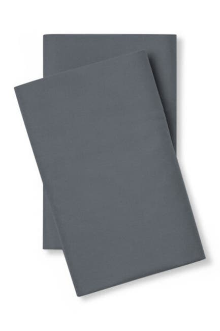 Image of Pillow Guy Luxe Soft & Smooth Tencel Pillowcase Pair - Set of 2 - King/Cal King - Charcoal