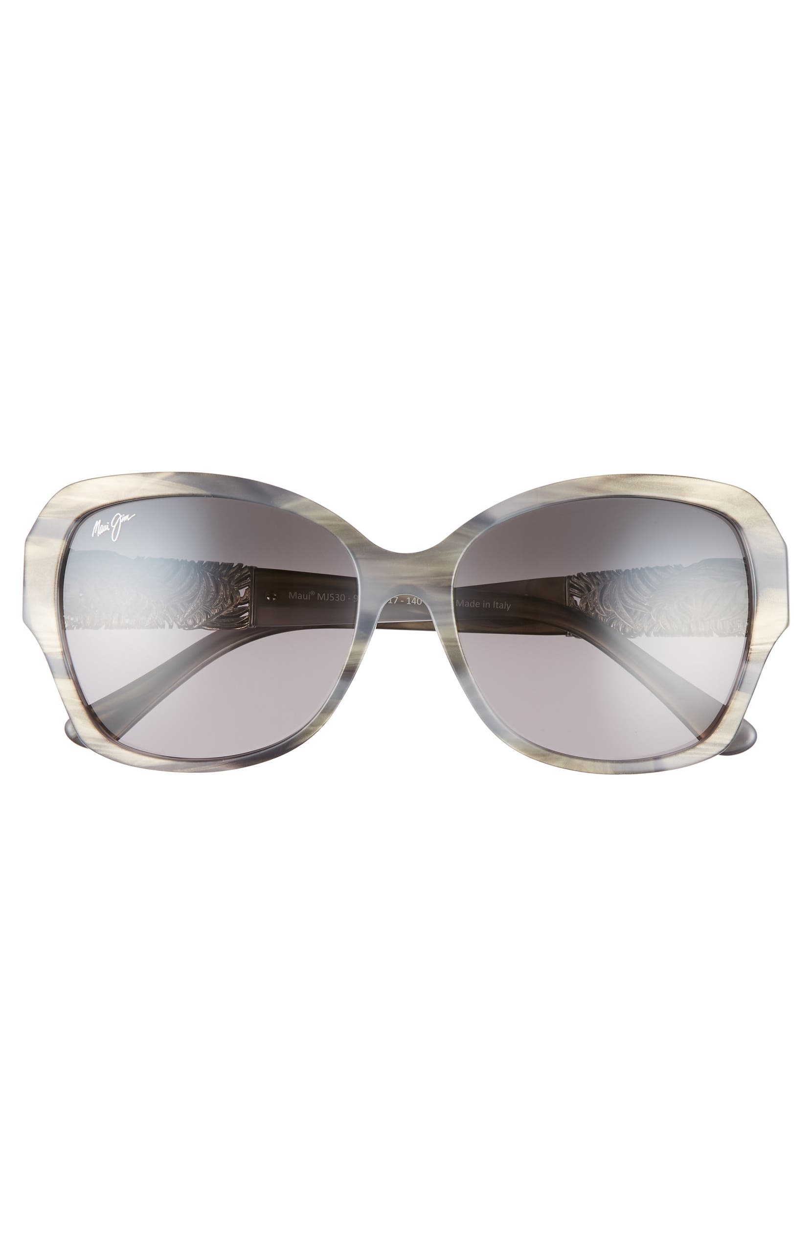 a78d5f4dced76 Maui Jim Swaying Palms 57mm Polarized Butterfly Sunglasses | Nordstrom