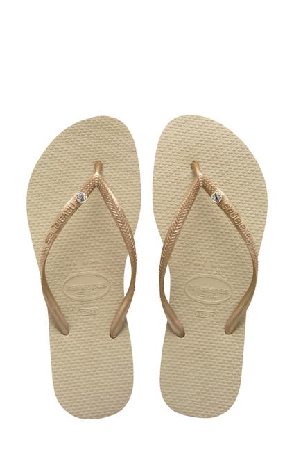 Image of Havaianas Slim Crystal Glamour Flip Flop