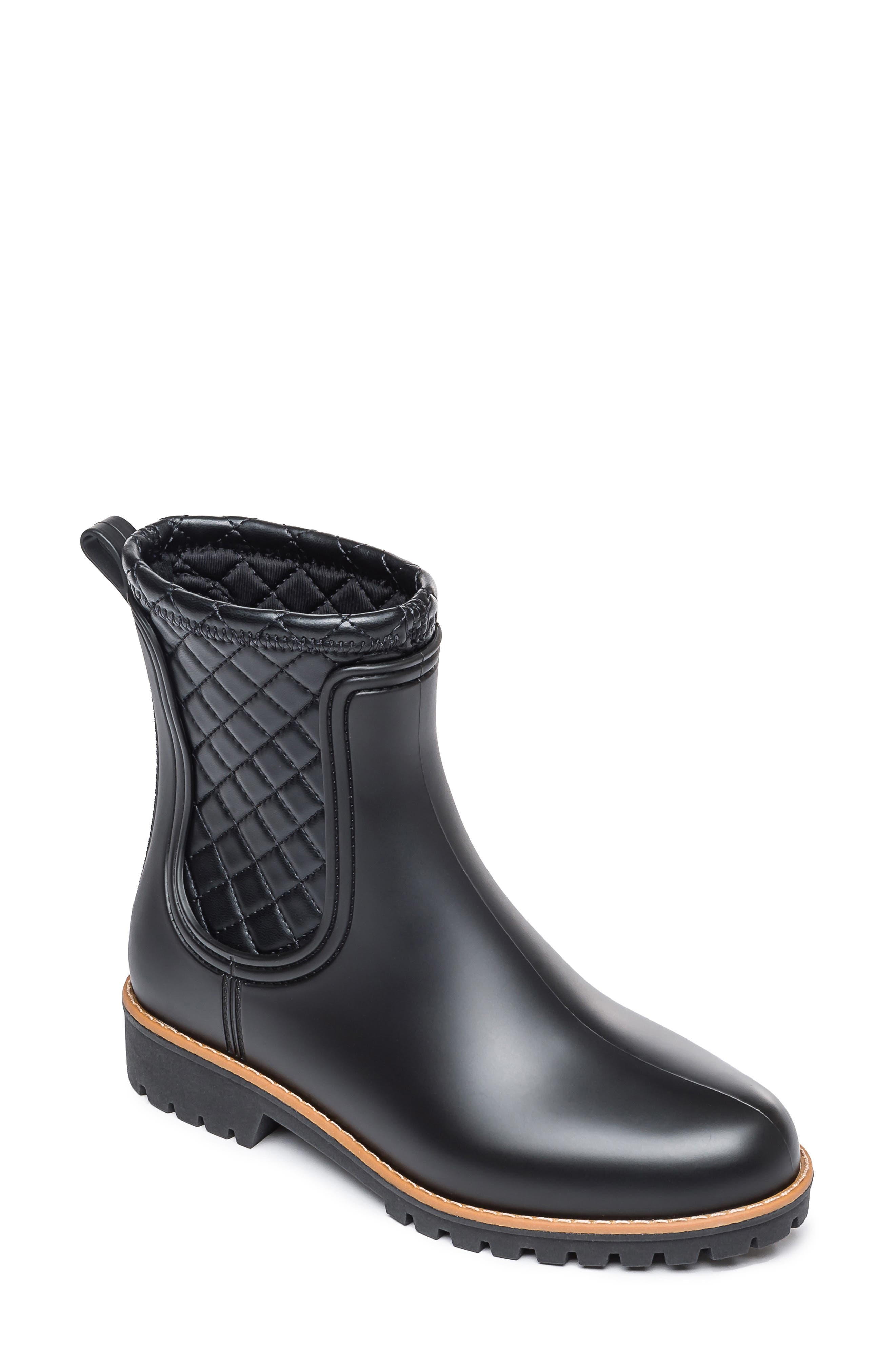 Zora Waterproof Quilted Rain Boot