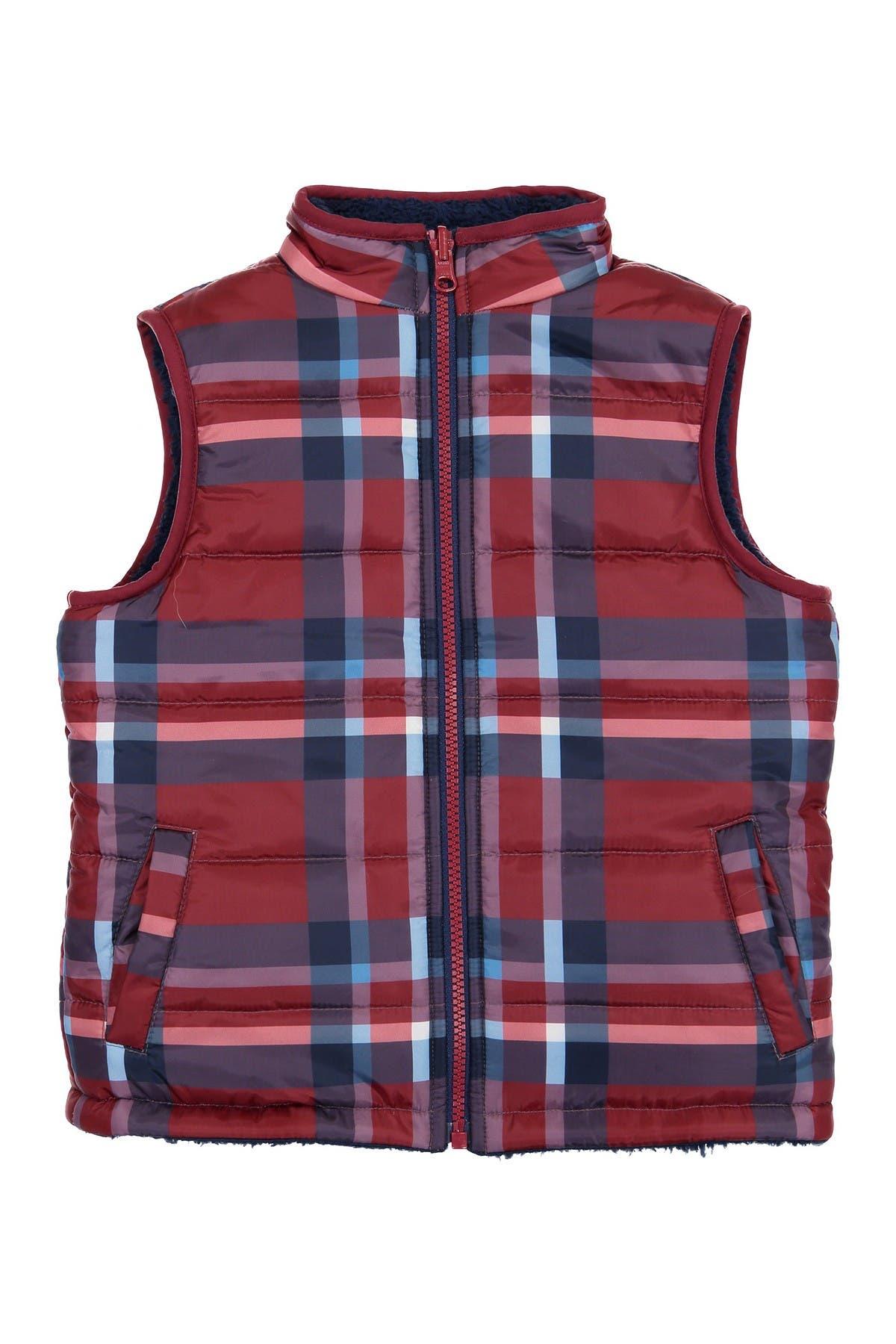 Image of Andy & Evan Reversible Fleece Vest