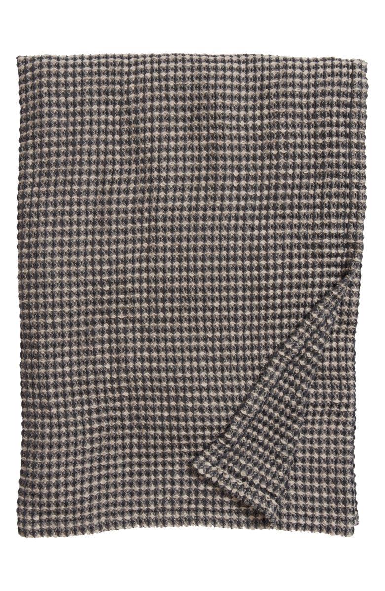 TREASURE & BOND Waffle Knit Blanket, Main, color, 021