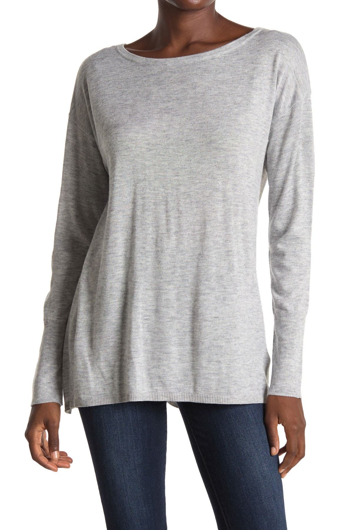 Image of NYDJ Boatneck Button Back Sweater